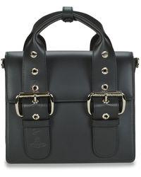 Vivienne Westwood Handtassen Alex Med Handbag - Zwart