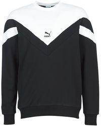 PUMA ICONIC MCS CREW hommes Sweat-shirt en Noir