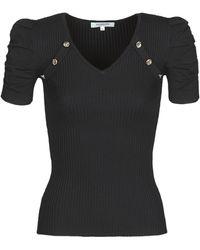 Morgan T-shirt Korte Mouw Mnola - Zwart