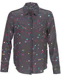 American Retro Overhemd Holly - Zwart