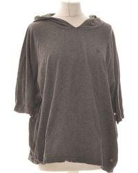 IKKS Sweat Femme 38 - T2 - M Sweat-shirt - Gris