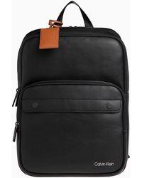 Calvin Klein Sac à dos K50K505519 3G SQUARE - Noir