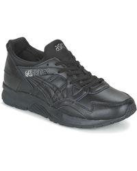 Asics GEL-LYTE V femmes Chaussures en Noir