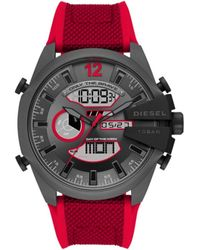 DIESEL Reloj digital DZ4551 - Rojo