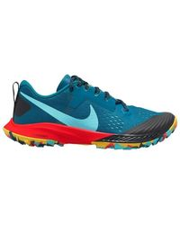 Nike W Air Zoom Terra Kiger 5 Women's Running Trainers In Multicolour - Blue