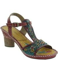 Laura Vita - Deby 07 Women's Sandals In Red - Lyst