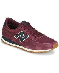 New Balance Lage Sneakers 420 - Rood