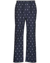 Polo Ralph Lauren Pyjama's / Nachthemden Pj Pant Sleep Bottom - Blauw