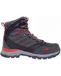 The North Face - Hedgehog Trek Gtx Gotetex Women's Walking Boots In Grey - Lyst