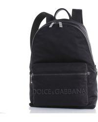 Dolce & Gabbana Rugzak Bm1607az675 - Zwart