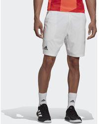 adidas Short PANTALÓN CORTO 2 IN 1 TENNIS HEAT.RDY - Blanco