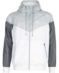 Nike SPORTSWEAR WINDRUNNER hommes Coupes vent en blanc