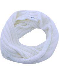 Penn Rich Woolrich RING SERENDIPITY bufandas mujer crema - Blanco