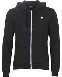 Le Coq Sportif Trainingsjack Ess Fz Hoody N°2 M - Zwart