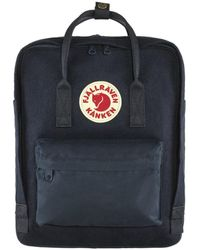 Fjallraven Tas Kanken Re-wool - Blauw