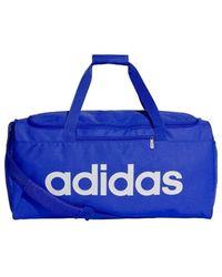 adidas Linear Core Duffel Bag - Azul