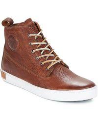 Blackstone Lage Sneakers Inch Worker - Bruin