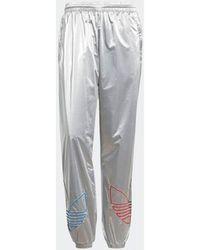 adidas Trainingsanzüge Tricolor Track Pant Silver - Silver Metallic - Mettallic