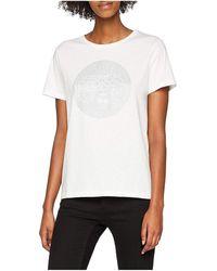 Le Temps Des Cerises T-Shirt Femme Glilogo Ice Cream T-shirt - Blanc