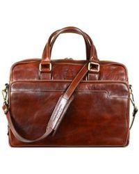 Time Resistance - Orlando Women's Computer Bag In Brown - Lyst