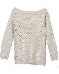 BCBGeneration - 617223 Women's Sweater In Grey - Lyst