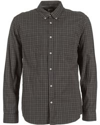 Quiksilver - Sound Touch Ls Men's Long Sleeved Shirt In Grey - Lyst
