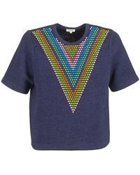 Manoush Sweater Doudou Star - Blauw