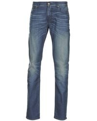 7 For All Mankind Skinny Jeans Ronnie Electric Mind - Blauw