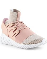 adidas Tubular Doom Pk Bb2390 Women's Shoes (high-top Trainers) In Pink