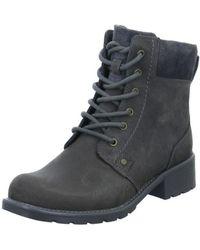 Clarks - Orinoco Spice Women's Low Ankle Boots In Grey - Lyst