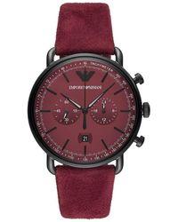 Armani Reloj analógico UR - AR11265 - Rojo