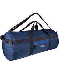 Regatta Packaway 60l Duffle Bag Blue Backpack