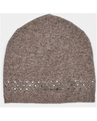 Max & Moi - Hat Hatdiamond Brown Woman Autumn/winter Collection Women's Beanie In Brown - Lyst
