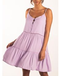 Beachlife Vestido Vestido verano con tirantes finos Lavendula - Rosa