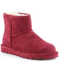 BEARPAW Snowboots Alyssa - Rood