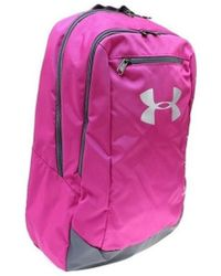 Under Armour - Ua Hustle Backpack Ldwr Women's Backpack In Pink - Lyst