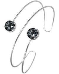 Sc Crystal Bracelets BS134-SINI - Noir