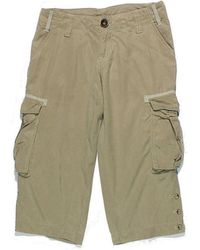 Oxbow Pantacourt Femme 34 - T0 - Xs Pantalon - Neutre