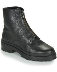 André NAIS Boots - Noir