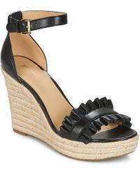 MICHAEL Michael Kors - Bella Wedge Women's Sandals In Black - Lyst