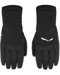 Salewa Rękawiczki Ortles Pl Gloves 26436-0910 Women's Gloves In Black
