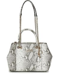 Guess Handtassen Holly Status Carryall - Metallic