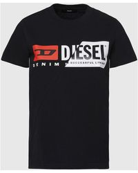 DIESEL A00312 091A T-SILY - Negro