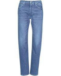 Replay ALEXIS femmes Jeans boyfriend en bleu
