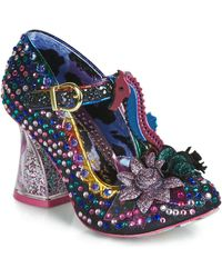 Irregular Choice - Hippokampos Women's Court Shoes In Black - Lyst