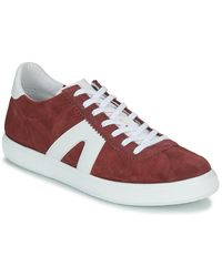 André Sneakers Gilot - Rosso