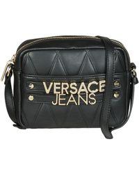 47675b3647 Versace Jeans - Sotara Women s Shoulder Bag In Black - Lyst