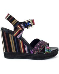 Geox - Janira Women's Sandals In Black - Lyst