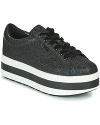 Karl Lagerfeld Lage Sneakers Kobo Kup Ring Logo Lace Shoe - Zwart