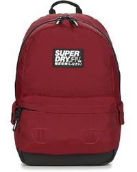 Superdry Rugzak Classic Montana - Rood